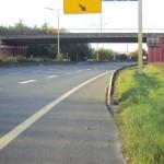 Travaux de pose de palplanches - Autoroute A13