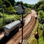 Chantier CFL – Colmar-Berg à Schieren – Traitement à la chaux