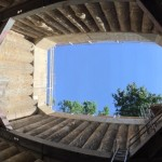 Fosse de fonçage - vue interieure